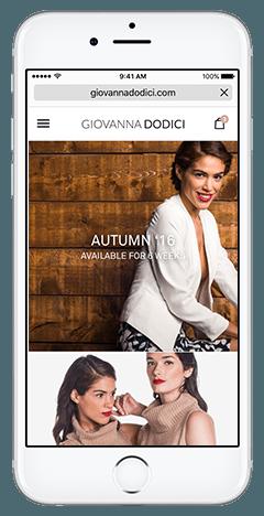 Giovanna Dodici Web App Product