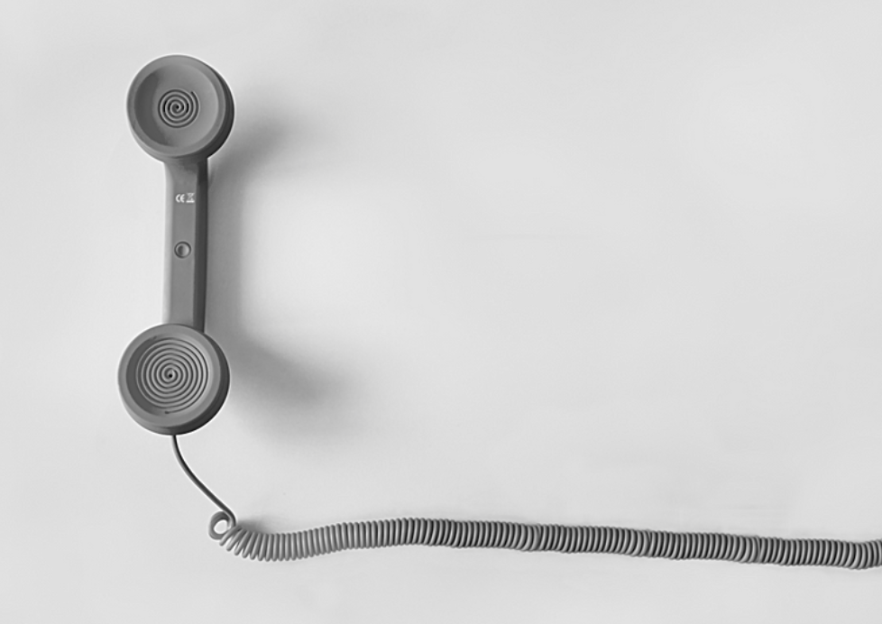 old house phone with cord