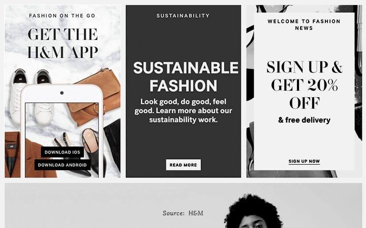 shopping app ads