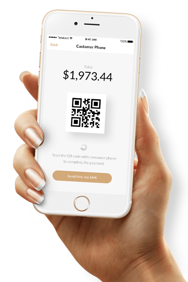 QR code scanning for payment