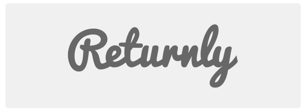 returnly logo black and white