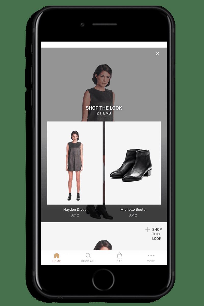 iphone shopping orders screenshot