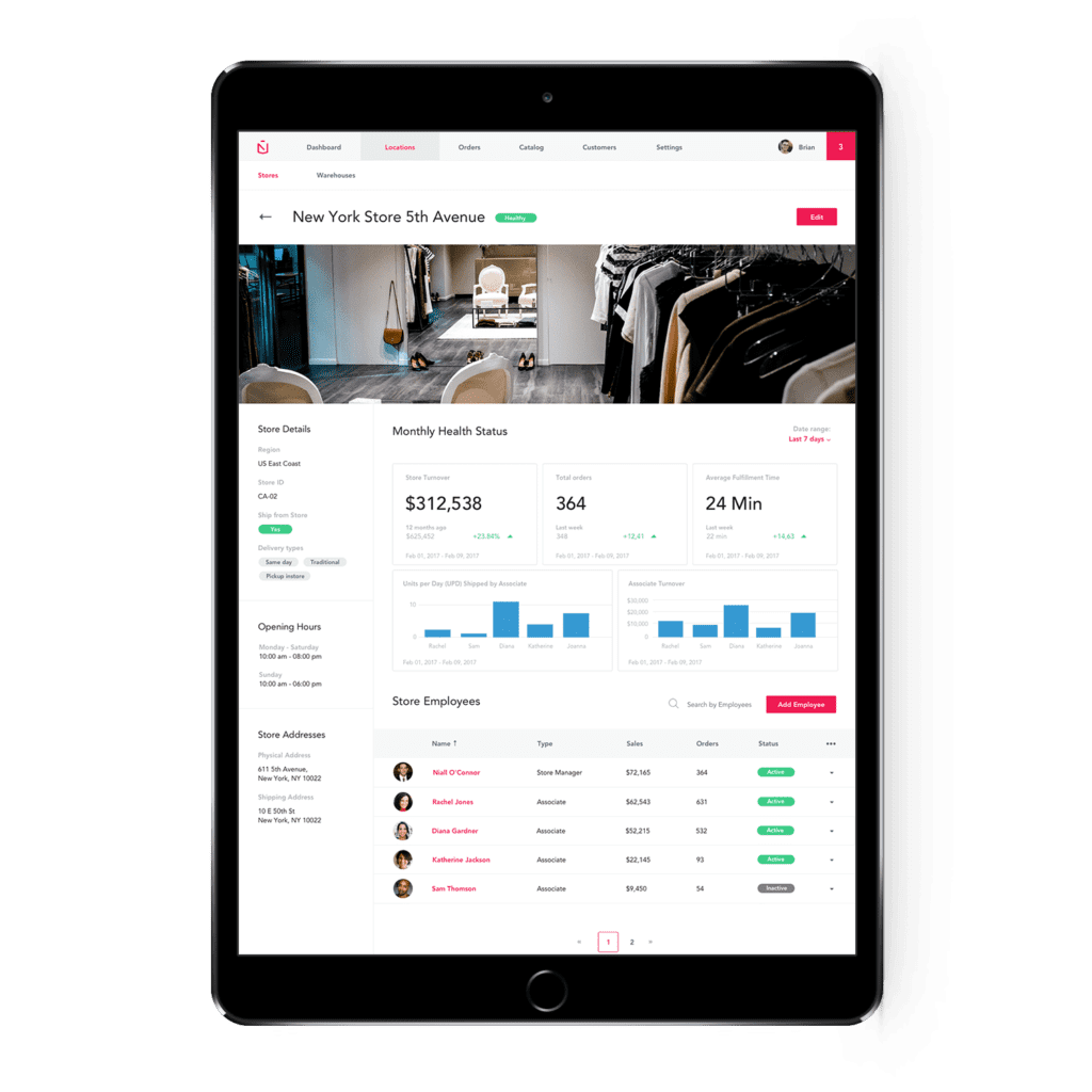 OMNICHANNEL INSIGHTS ON TABLET
