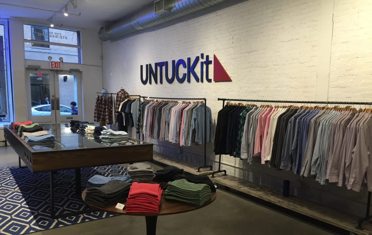 untuckit store on the inside