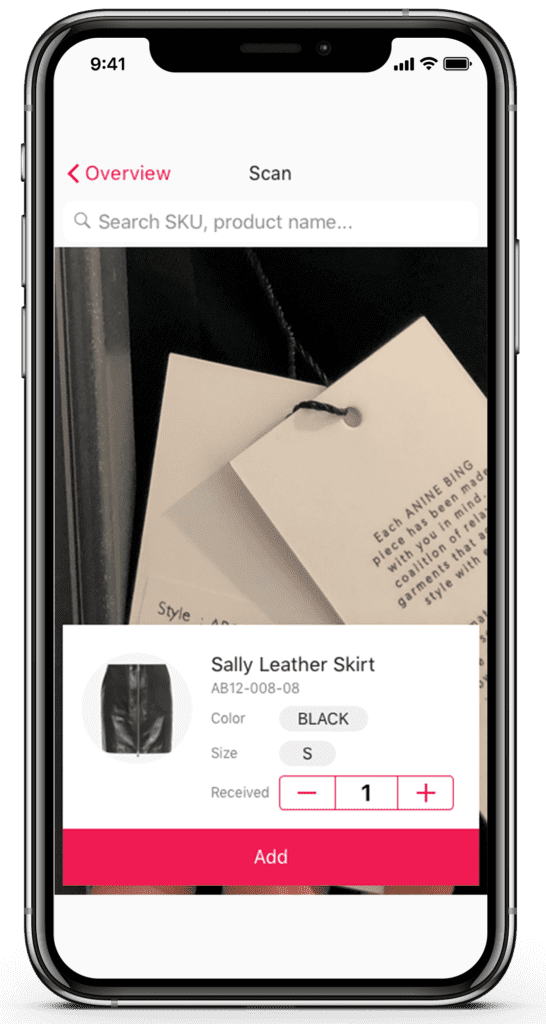 STORE INVENTORY MANAGEMENT ON PHONE