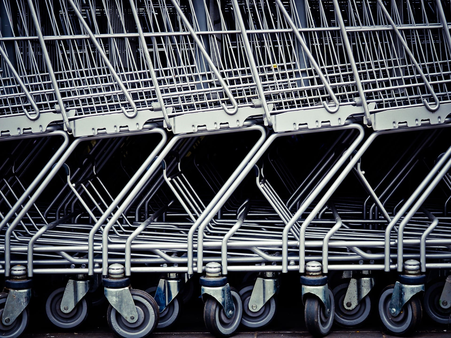 shopping cart lines
